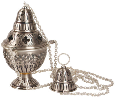 Censer and Boat - Oxidized silver