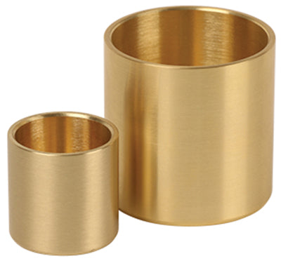 Candle Socket - Bright Brass