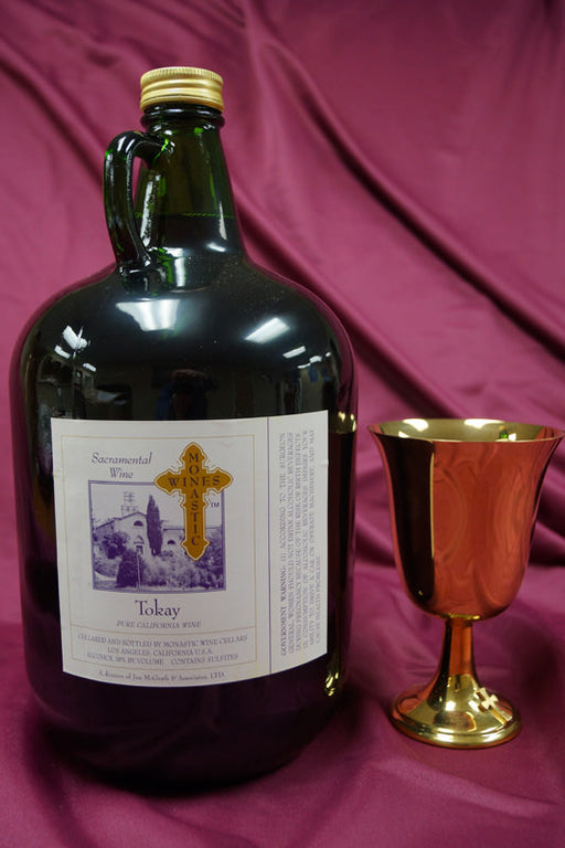 MONASTIC TOKAY 4Liter Jugs - Case of 4 Jugs