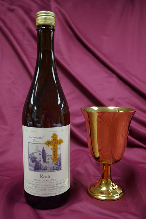 MONASTIC  ROSE .750ml bottles - Case of 12 bottles