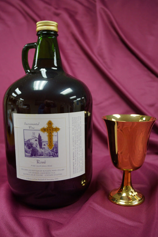 MONASTIC  ROSE 4Liter Jugs - Case of 4 Jugs