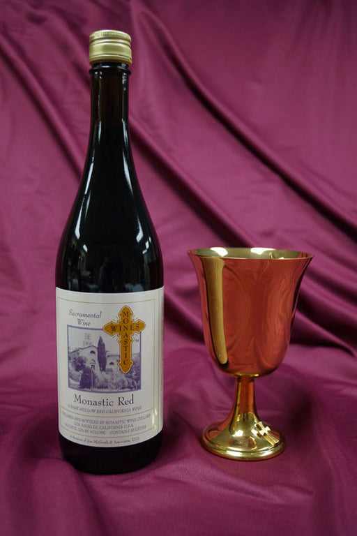 MONASTIC RED .750ml bottles - Case of 12 bottles