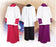 ALTAR SERVER CASSOCK - Style 215U  - 65% polyester/35% cotton. Button Front  in White