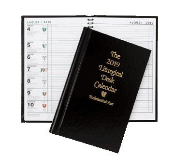 THE LITURGICAL DESK CALENDAR  - HARD COVER
