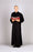 ADULT CASSOCK - Style 217U  - 65% polyester/35% cotton. Comfort Cut. Button Front in Black