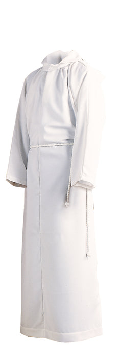 ALTAR SERVER ALB - Style 206 - 65% Polyester / 35 % Combed Cotton blend. Double-ply yoke. NO HOOD. Cinctures sold separately
