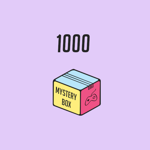 Mystery Box Gaming 1000