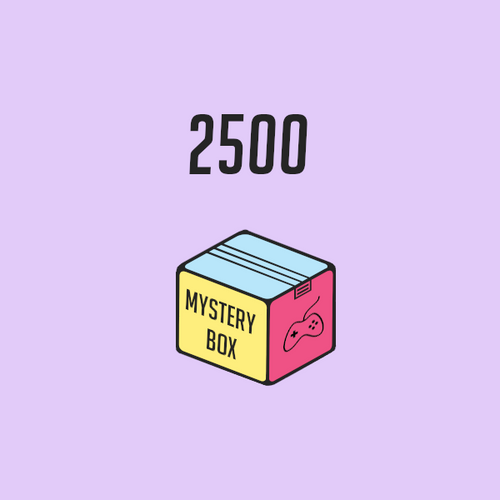 Mystery Box Gaming 2500