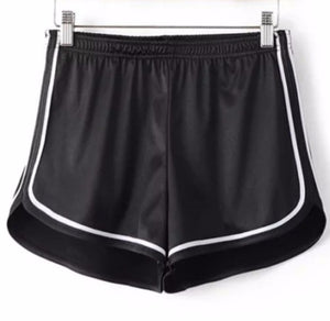 Silk Slim Shorts