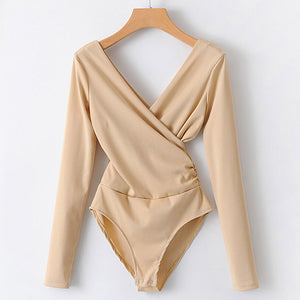 Loose Long Sleeve Bodysuit