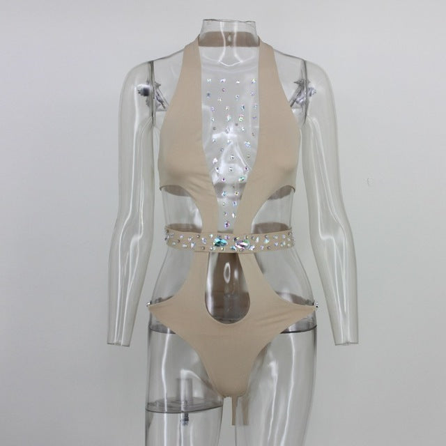 Lux Crystal One-Piece Suit