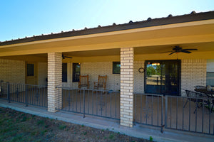 "SOLD!  ""Hill Country Home""    Brick Home on 5+/- Acres in Lometa, Texas"