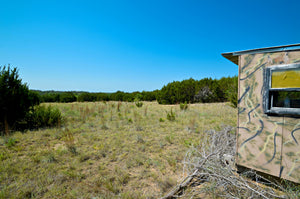 "SOLD!   ""The Hoppe Ranch""   56+/- Acres with 1 Bedroom Cabin in Mills County Texas"