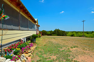 93+/- Acres with 3 Bedroom 2 Bath Manufactured Home in Mills County Texas