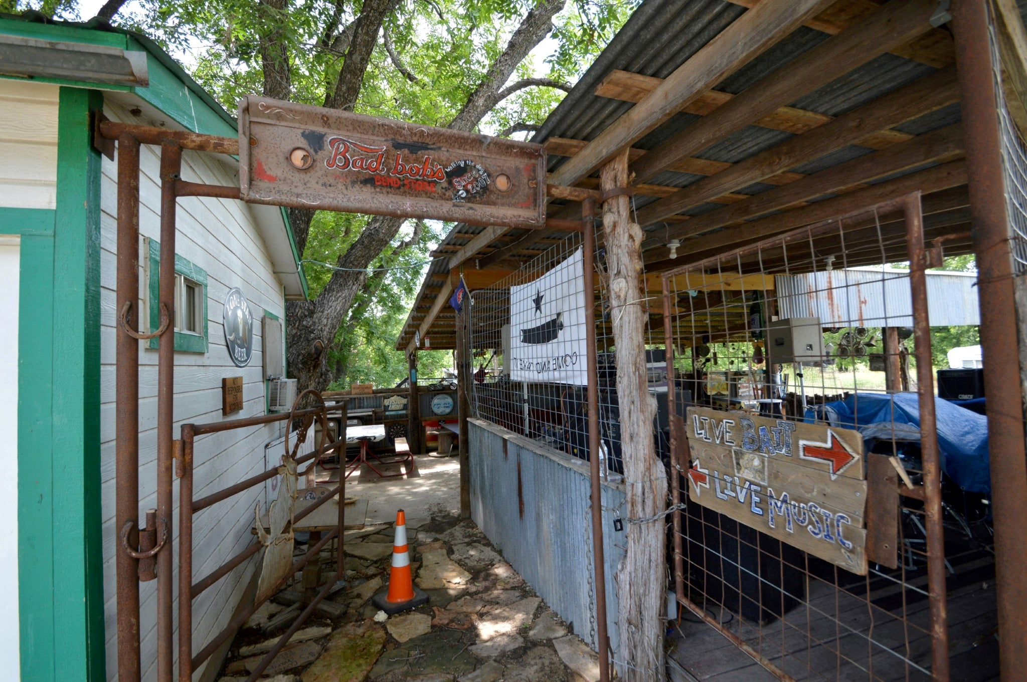 "SOLD!  ""Bad Bobs Bend Store""  in San Saba County, Texas"