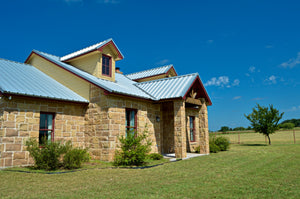SOLD!  Custom Built 3 Bed 2 Bath Rock Home on 40+/- Acres in Lampasas,  Texas