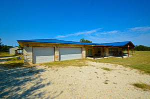 """Red Bluff Ranch"" Gorgeous Rock Home on 12+/- Acres in Lampasas County, Texas"