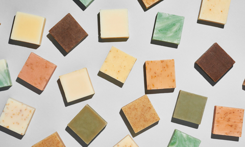 natural soap bars made without synthetic fragrance