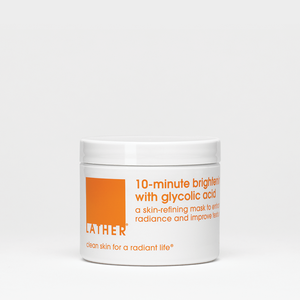 10-minute brightening mask