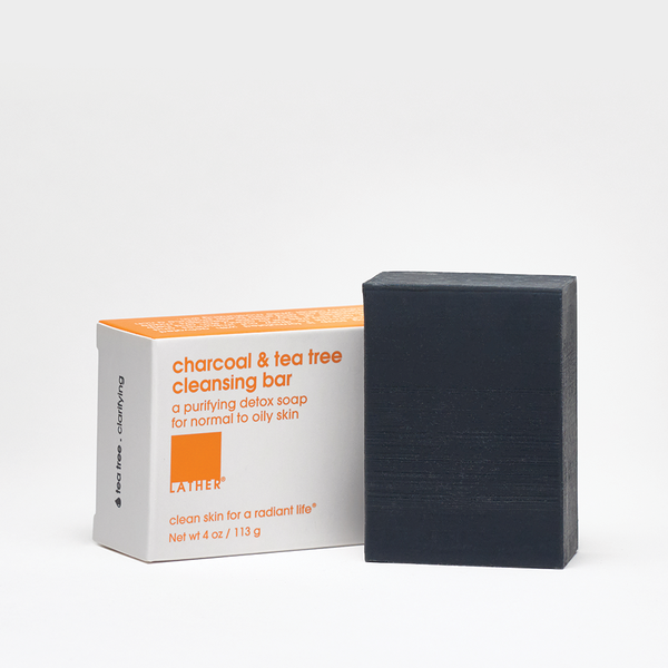 Charcoal & Tea Tree Cleansing Bar