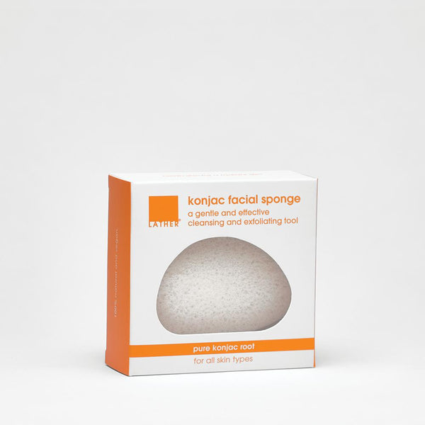 Pure Konjac Facial Sponge with box
