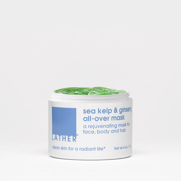 Sea Kelp & Ginseng All-Over Mask lid open