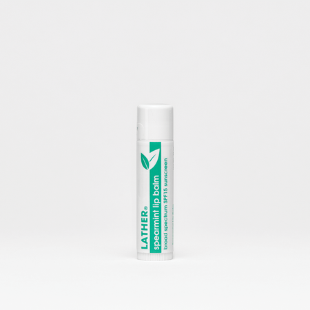 Unscented Lip Balm Mineral Sunscreen - Broad Spectrum SPF 15