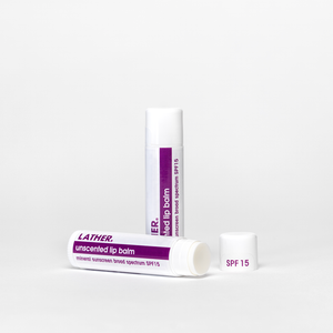 Unscented Lip Balm - Broad Spectrum SPF15