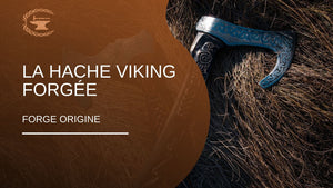 La hache viking forgée