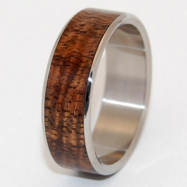 Hawaiian Koa Wood Wide Inlay