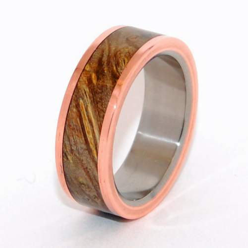Copper + Maple Wood