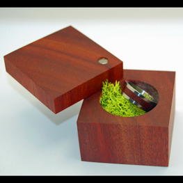Bloodwood Ring Box