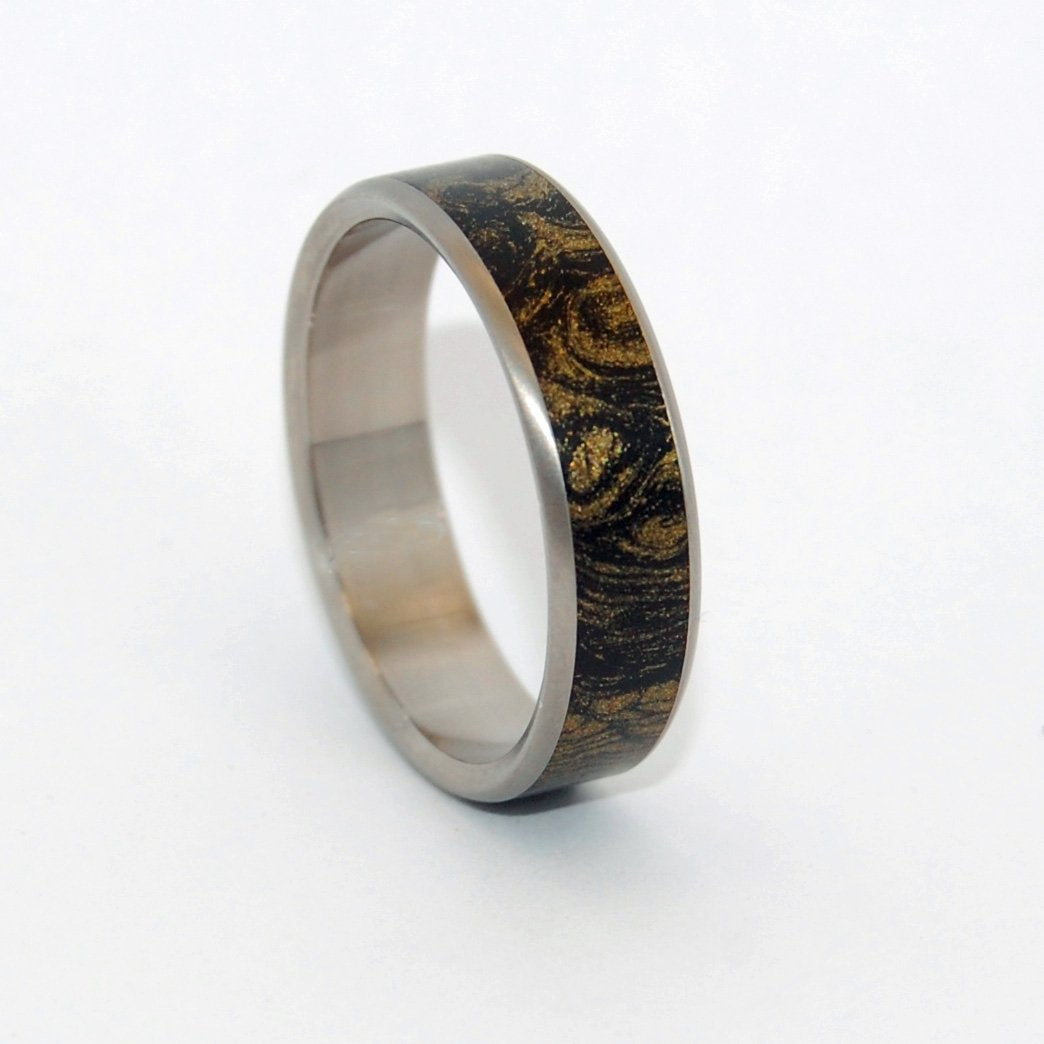 Mokume Gane [Black/Gold] #1