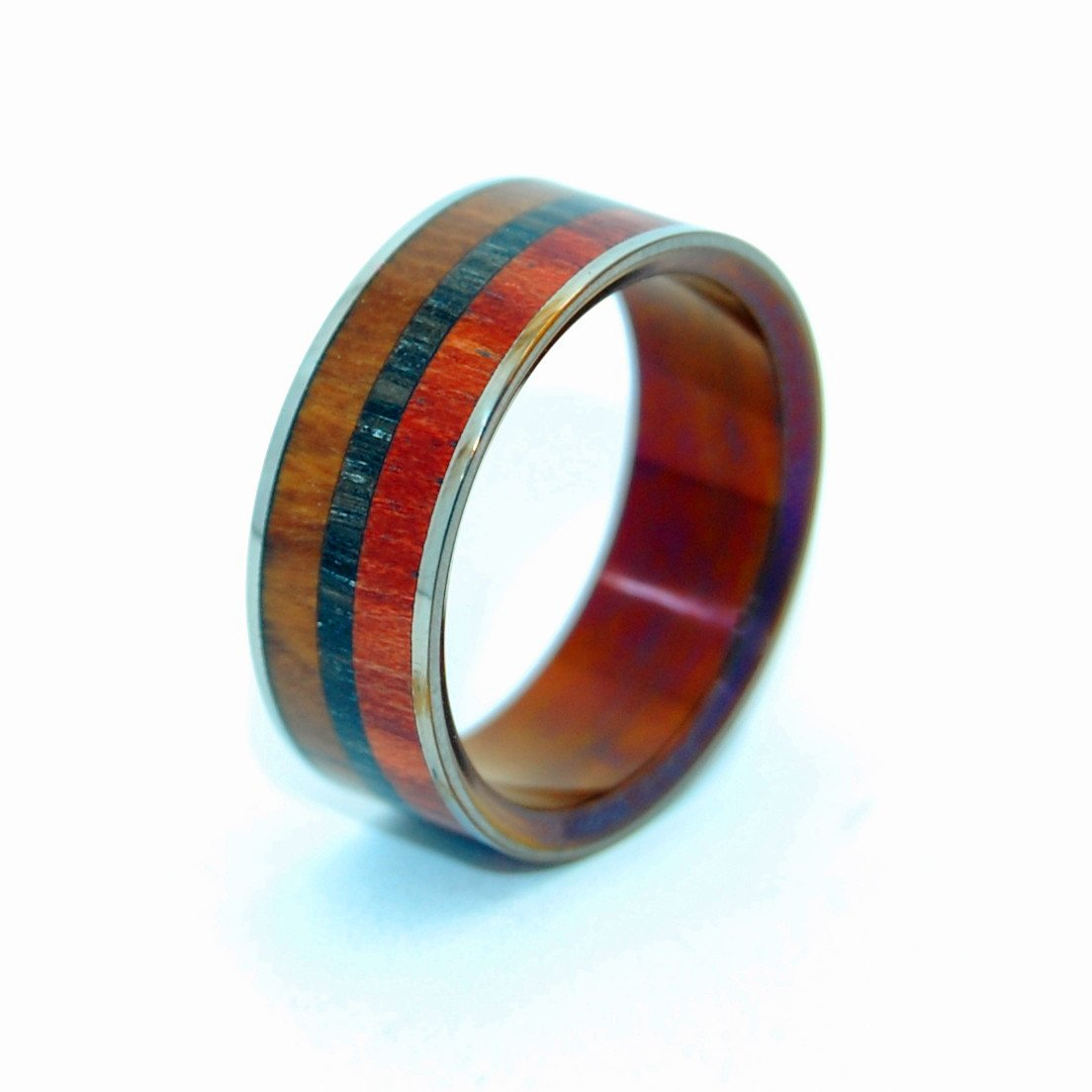 Ukrainian Bog Oak Wood + Bloodwood + Ancient Kauri Wood