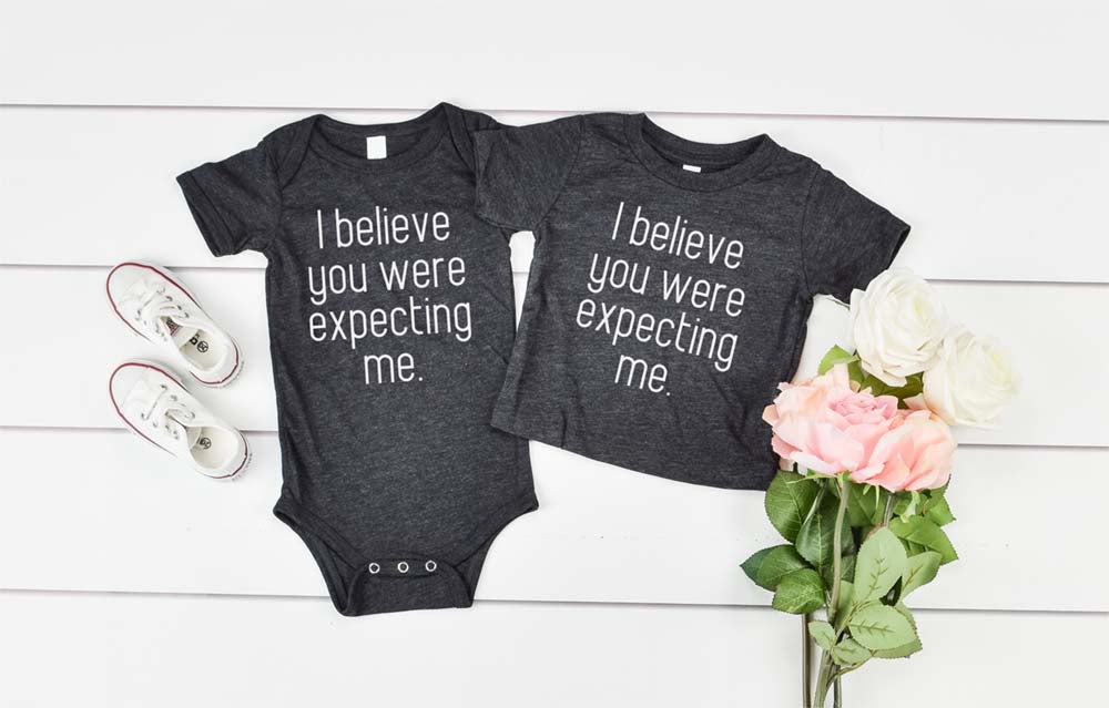 I Believe You Were Expecting Me - Hot Mess Mom Designs