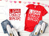 I love Tacos Valentines Shirt - Hot Mess Mom Designs