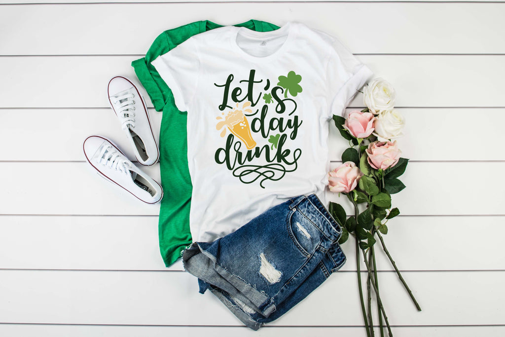 Lets Day Drink Shirt - Hot Mess Mom Designs