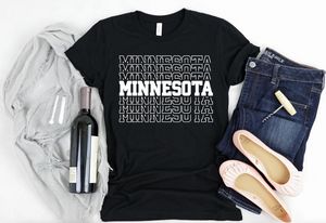 Minnesota Shirt - Hot Mess Mom Designs