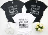 And Just Like That We All Became Teachers #QuarantineLife - Hot Mess Mom Designs