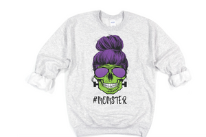 Momster Sweatshirt - Hot Mess Mom Designs