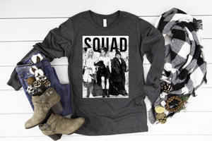 Scary Movie Squad Long Sleeve - funny shirts for women at Hot Mess Mom Designs