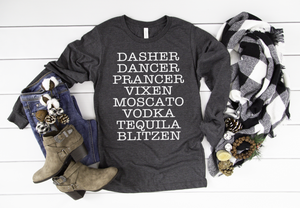 Reindeer Names - Hot Mess Mom Designs