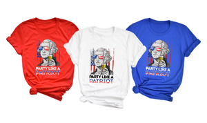 Party Like a Patriot George Washington - Hot Mess Mom Designs