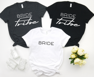 Bride Tribe Tees - Hot Mess Mom Designs