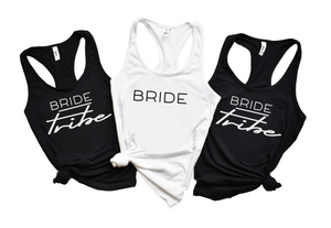 Bride Tribe Tanks - Hot Mess Mom Designs
