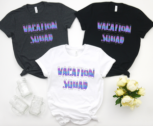 Vacation Squad - Hot Mess Mom Designs