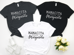 Mamacita Needs a Margarita - Hot Mess Mom Designs