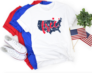 Free Fourth Of July Shirt - Hot Mess Mom Designs