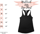 resting gym face tank top - Hot Mess Mom Designs