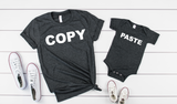 copy and paste shirt set - Hot Mess Mom Designs